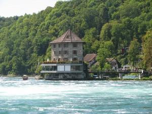 Rhine falls rhine river