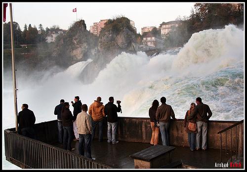 Rhine Falls Schaffhausen Switzerland
